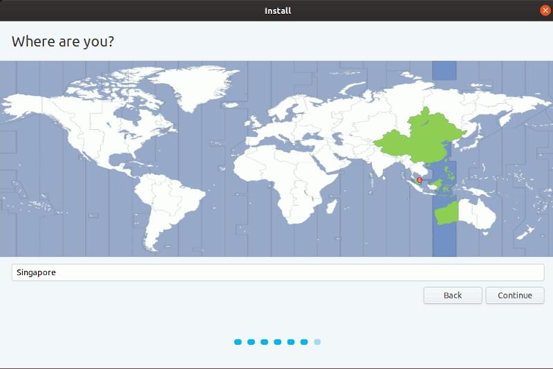 Windows Install Ubuntu Location