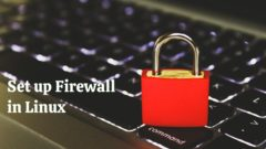 Set Up Firewall Linux Featured